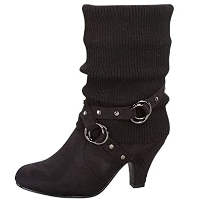 Amazon.com: Top Moda Auto-25 Women's Mid-calf Black Sweater Top