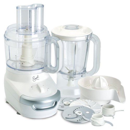 Emeril by T-fal FP4121002A 3-in-1 BAM! Food Processor, White