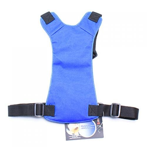 Blue Universal Fit Car Vehicle Dog Pet Seat Safety Belt Harness Chest 58cm - 86cm