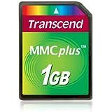 Transcend 1 Go Carte mémoire multimédia MMC TS1GMMC4