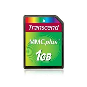 Transcend Multimedia Card Plus (MMC Plus) Speicherkarte 1 GB