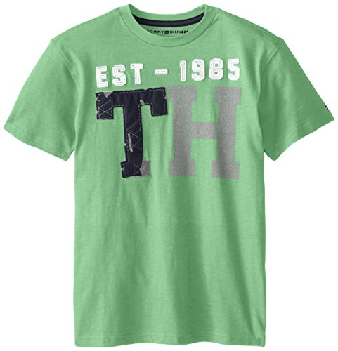 Tommy Hilfiger Big Boys' Short Sleeve Crewneck