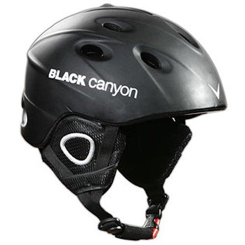 Black Canyon Skihelm Zermatt, matt black