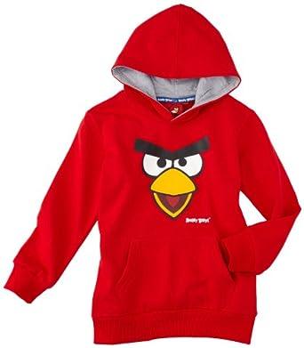 Angry birds - sweat-shirt à capuche - garçon - rouge (red) - 2