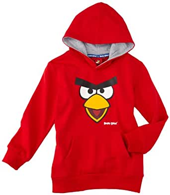 Angry birds - sweat-shirt à capuche - garçon - rouge (red) - 2