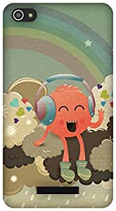 The Racoon Lean Radiohead hard plastic printed back case/cover for Micromax Canvas Hue 2 A316