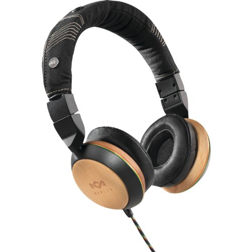 The House Of Marley Stir It Up On-Ear Headphones - Freedom Collection - Three-Button Apple Mic (Em-Fh013-Ha)