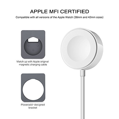 Apple-Watch-Stand-Poweradd-Apple-Watch-Charge-Stand-Apple-Watch-Magnetic-Charger-Charging-Cable-33-feet1meter