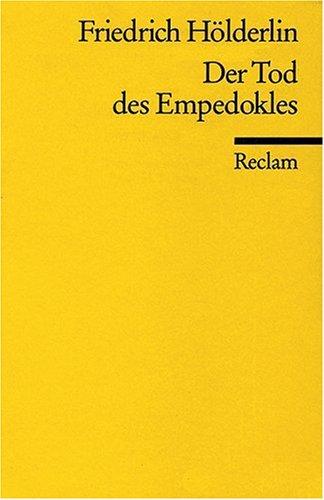 Der Tod des Empedokles