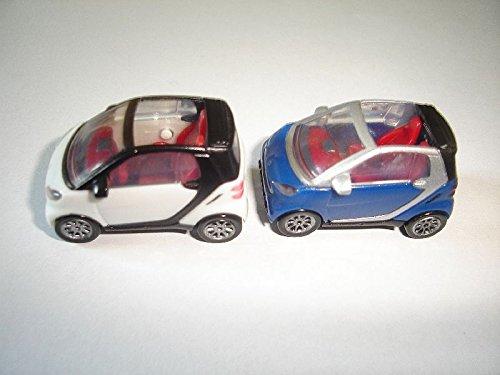 smarts-fortwo-convertibles-model-cars-set-187-h0-kinder-surprise-miniatures
