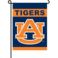 Click here to buy NCAA Auburn Tigers 2-Sided Garden Flag by BSI.