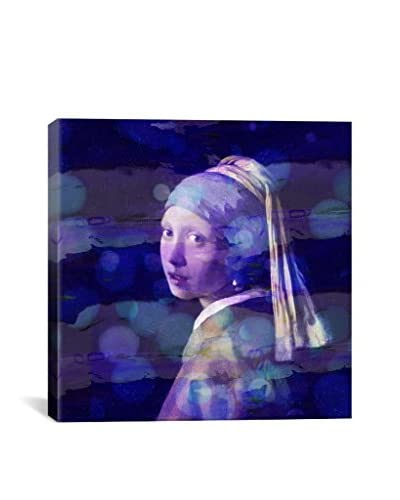 Girl With A Pearl Earring II Gallery Wrapped Canvas Print
