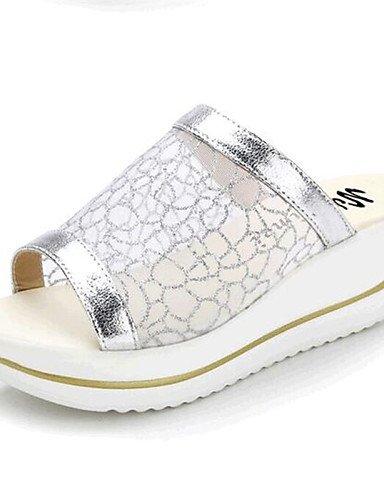 zapatos-de-mujer-plataforma-creepers-zapatillas-sandalias-casual-tul-plata-oro-silver-us5-eu35-uk3-c