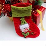 1PC Christmas Stocking Filler Pants Treat Gift Sack Bag (02)