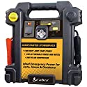 Cobra CJIC 350 900 Amp Jumpstarter Powerpack with Air Compressor