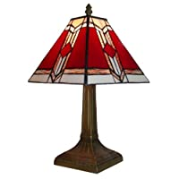 Tiffany Astec Table Lamp - 39cm