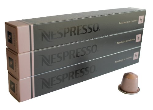 Buy 30 Rosabaya de Colombia Nespresso Capsules Espresso Lungo by Nestlé