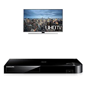Samsung UN60JU7100 60-Inch TV with BD-H6500 Blu-ray Player from Samsung