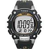 Timex Ironman Traditional 100-Lap w/Flix System - Black/Silver/Yellow Watch