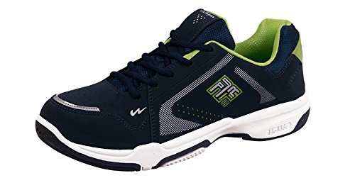 Campus Men's Cps Blue Synthetic Sports Shoes (BR-120BLU-PGRN) - 8 UK