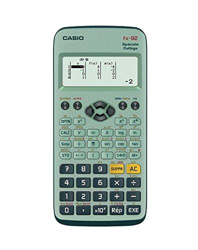 Casio Fx 92 Calculatrice scientifique Spéciale Collège