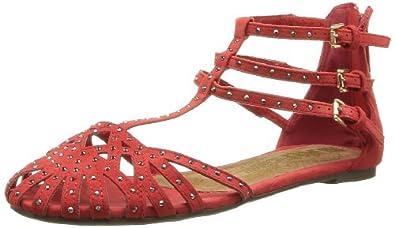 XTI 26701, Sandales femme - Rouge (Corail), 39 EU