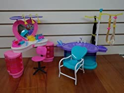 Gloria Barbie Size Dollhouse Furniture New Beauty Salon Play Set