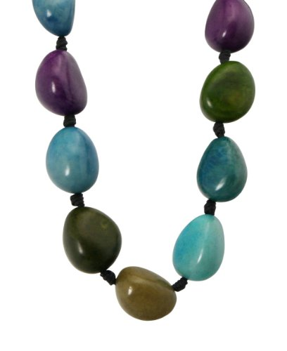 Whole Tagua Nut Necklace With Adjustable Length