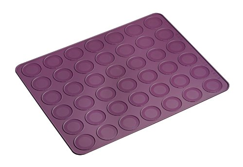lurch-1-piece-38-x-30-cm-flexiform-macaron-baking-mat-silicone-purple
