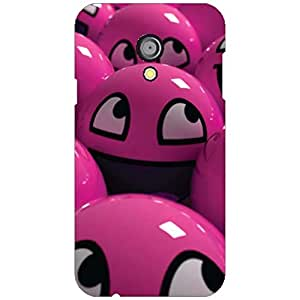 Printdream Back Cover for Moto G 2nd Genration (Multicolor)