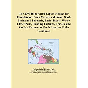 The 2009 Import and Export Market for Porcelain or China Varieties of Sinks, Wash Basins and Pedestals, Baths, Bidets, Water Closet Pans, Flushing Cisterns, ... and Similar Fixtures in Latin America Icon Group