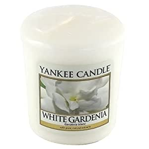 amazoncom yankee candle white gardenia votive sample With kitchen colors with white cabinets with yankee candle sampler holder