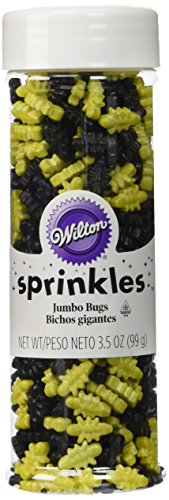 Wilton Bug Sprinkles Net Wt 3.5 oz/99g