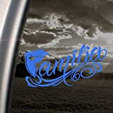 Famous Stars And Straps Blue Decal Familia Window Blue Sticker