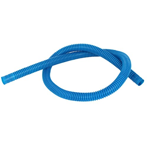Plastic Washing Machine Drain Washer Dishwasher Hose 85cm Long Blue (Plastic Hose Washer compare prices)
