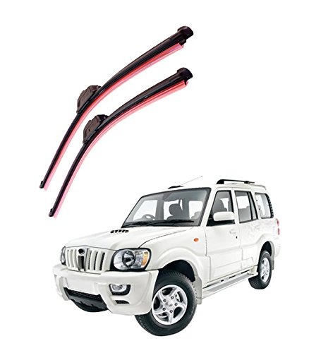 Autofurnish Frameless Silicon Wiper Blades for Mahindra Scorpio (D)20″ (P)20″