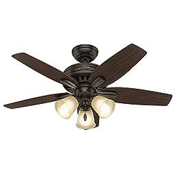 Hunter Fan Company 51084 Newsome Ceiling Fan with Light, 42\