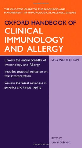 Oxford Handbook Of Clinical Immunology And Allergy (Oxford Handbooks)