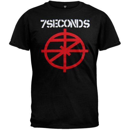 7 Seconds - Mens Scope T-Shirt X-Large Black