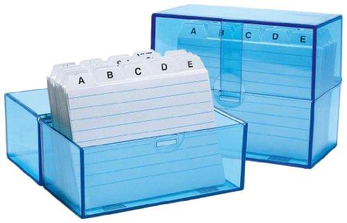 wedo-a7-card-index-system-transparent