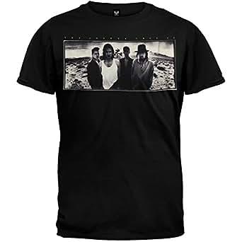 U2 - Mens Joshua Tree Soft T-shirt - Large Black
