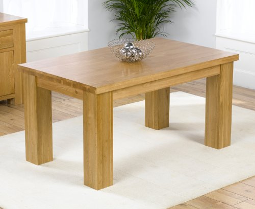 Dorset Solid Oak Medium Dining Table
