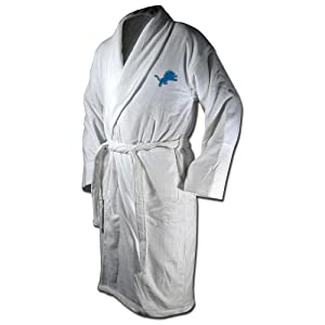 Buy Detroit Lions Throwback Terry Velour Adult One Size Robe by McArthur by McArthur