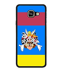 printtech Funny Designer Duck Back Case Cover for Samsung Galaxy A7 (2016) :: Samsung Galaxy A7 (2016) Duos with dual-SIM card slots