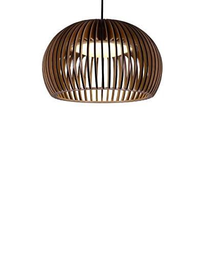 Lámpara Circule Wood Haya Tintada