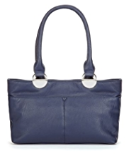 M&S Collection Double Pocket Mini Handbag