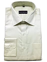 Blacksmith Men's Formal Shirt_1968096031BLSHIRT60S4_Light Cream_40