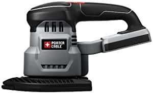 PORTER-CABLE Bare-Tool PC18DS 18-Volt Cordless Detail Sander (Tool Only, No Battery)