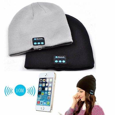 Aventus Lenovo S90 Sisley (Light Grey) Unisex Bluetooth Beanie Cappellino invernale cappello con built-in cuffie stereo
