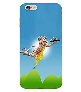 Lord Hanuman 3D Hard Polycarbonate Designer Back Case Cover for Apple iPhone 6